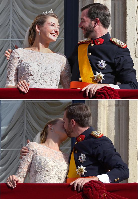 Vilmos luxemburgi trónörökös és Stefánia hercegnő