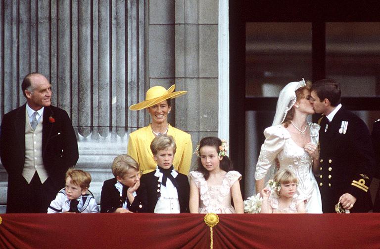 András yorki herceg és Sarah Ferguson yorki hercegné