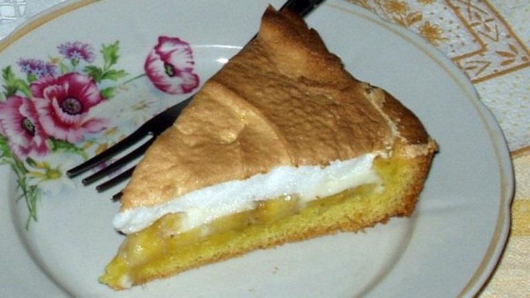 30 perces omlós, habos banános süti