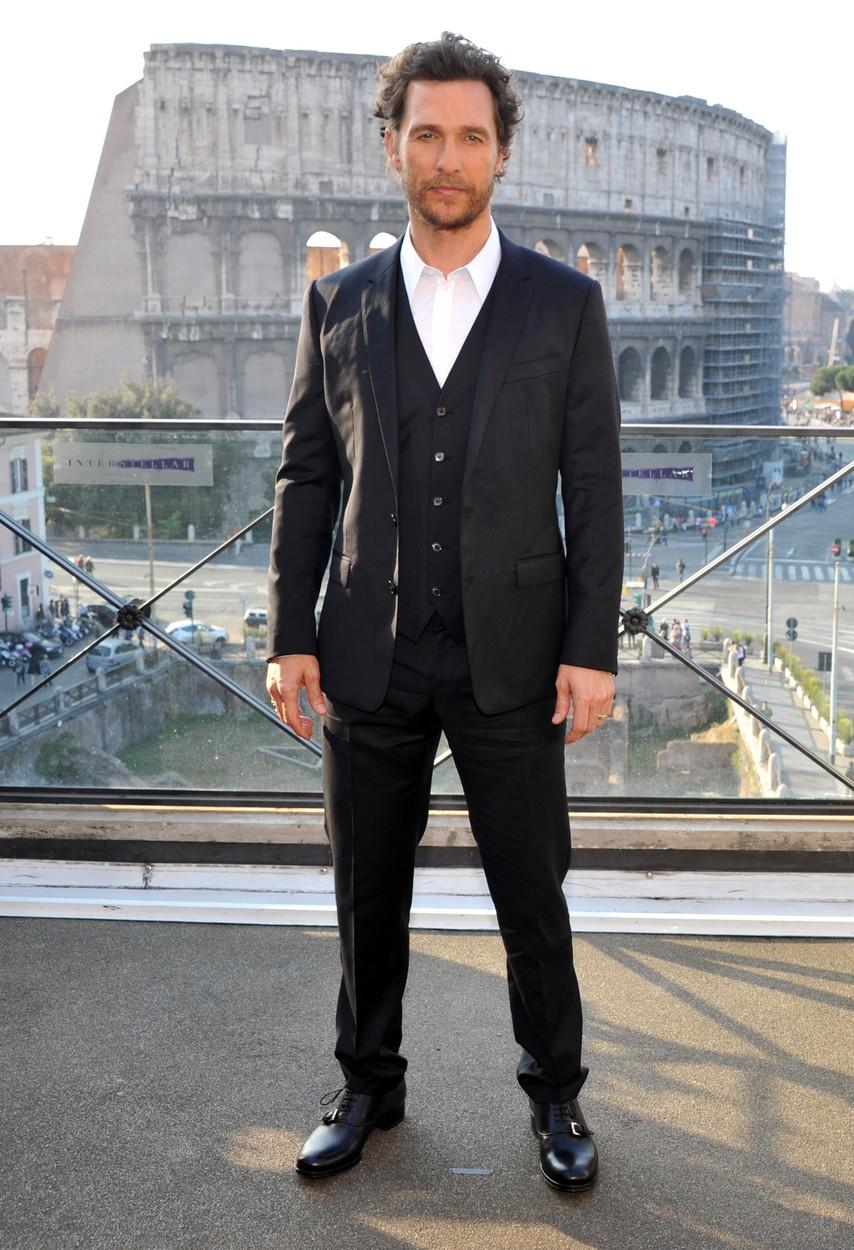 Szépfiútól az Oscarig - 10 fotó a ma 46 éves Matthew McConaughey-ről