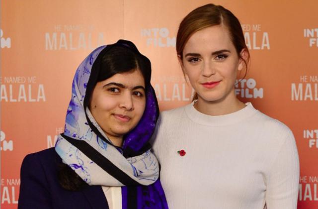 Emma Watson hatására lett feminista Malala Júszafzai