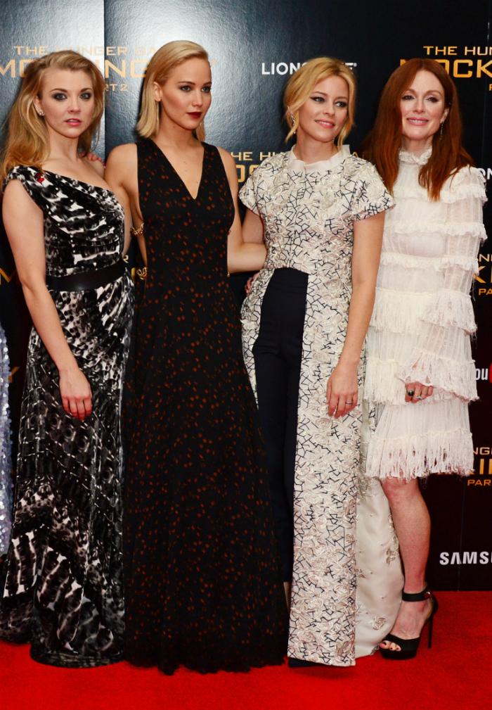 Az angliai Éhezők viadala vetítésen csak négy színésznőt láthattunk