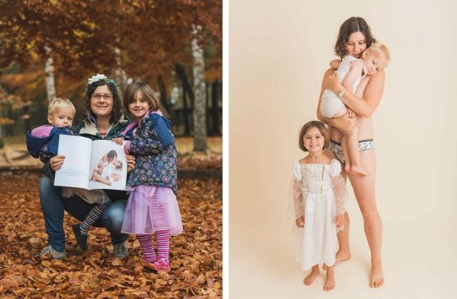 Anyukák, akik büszkén vállalják testüket szülés után is