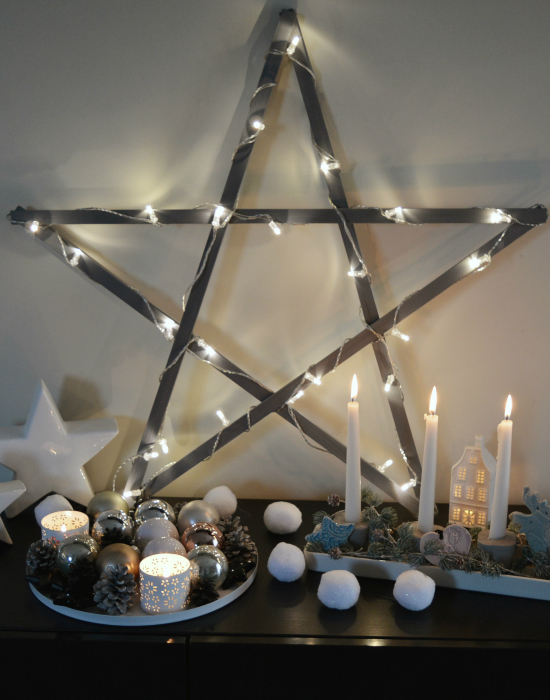 Csináld magad: óriás csillag karácsonyra