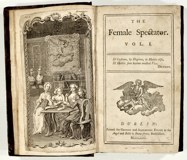 A Female Spectator nevű havilap 1744-ből