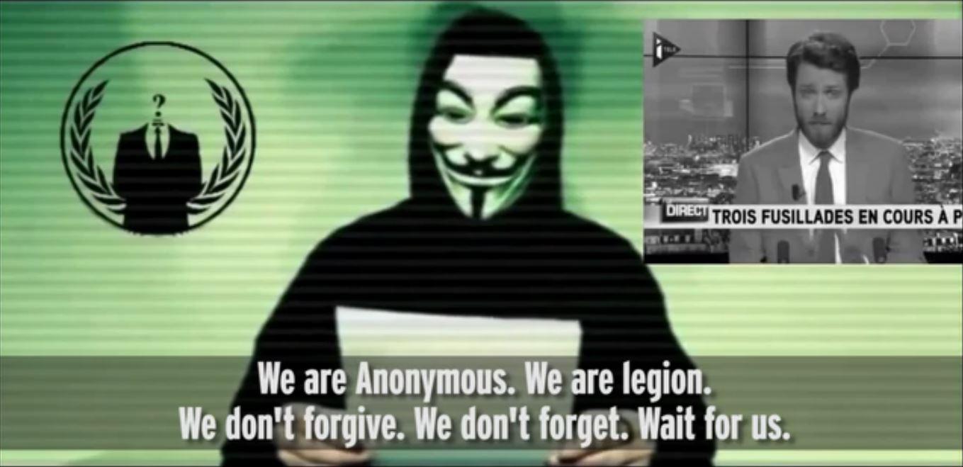 """""""We are Anonymous. We are legion."""" - Ez a hacker-szerveződés nem hivatalos szlogenje"""