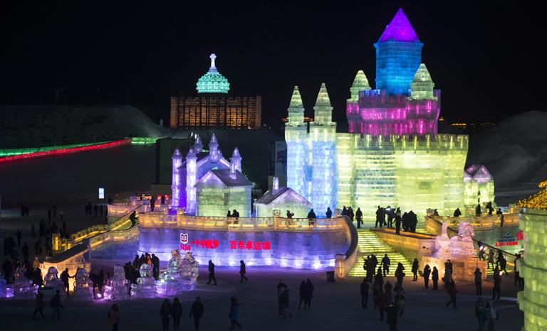 Harbin jég és hó birodalma