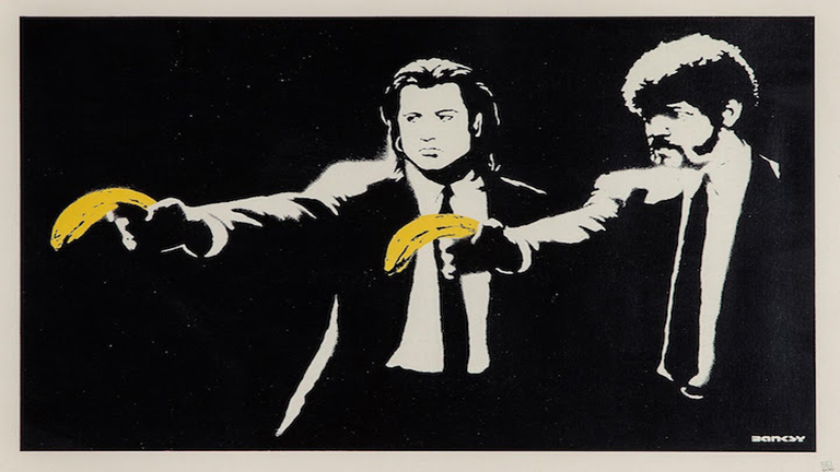 Már a te faladon is lóghat eredeti Banksy!