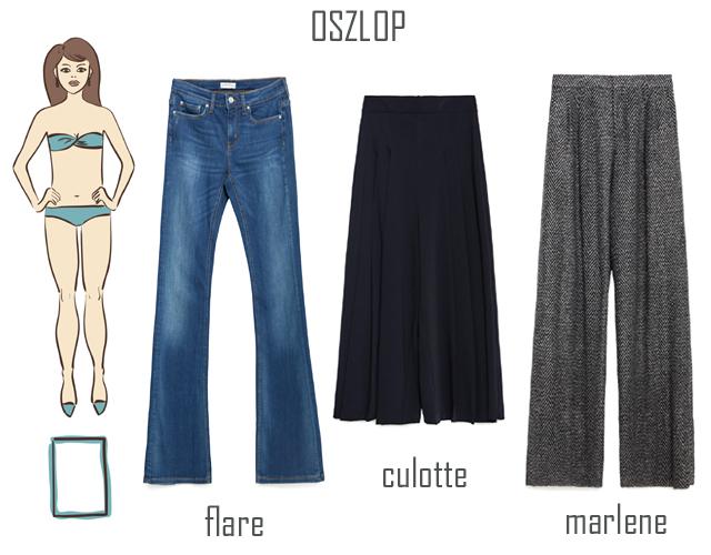 Mindhárom nadrág: Zara