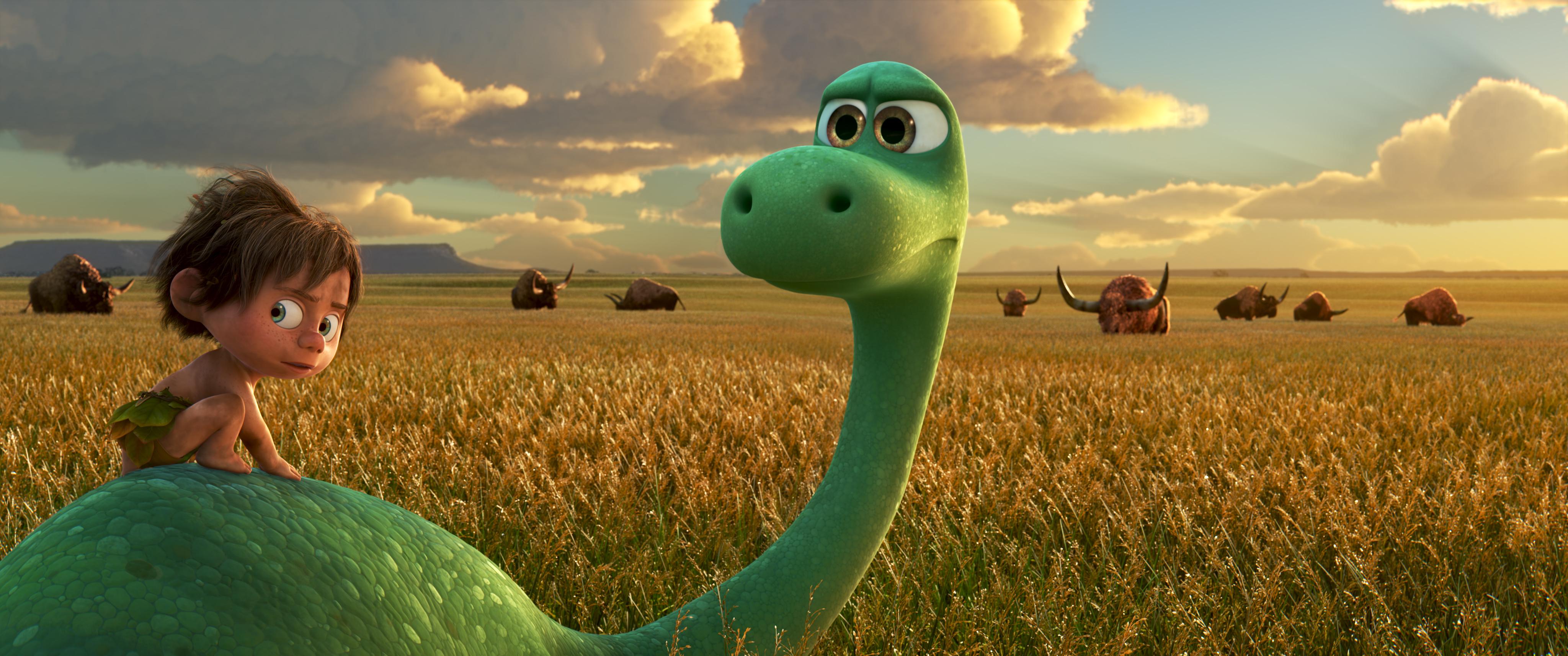 A Dínó tesó bizonyítja: kisgyerek és dinoszaurusz két jó barát