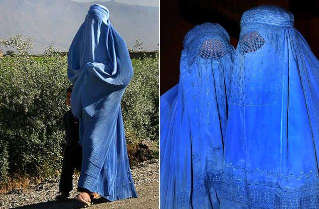 Így néz ki a a burka