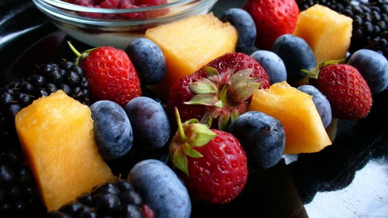 Sok zöldség, sok gyümölcs, kevés tabletta (Fotó: Tumblr)