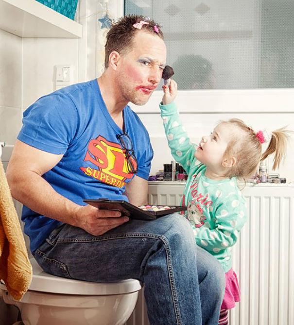 10 apuka, aki kiérdemelte a tökéletes apa címet – vicces fotók