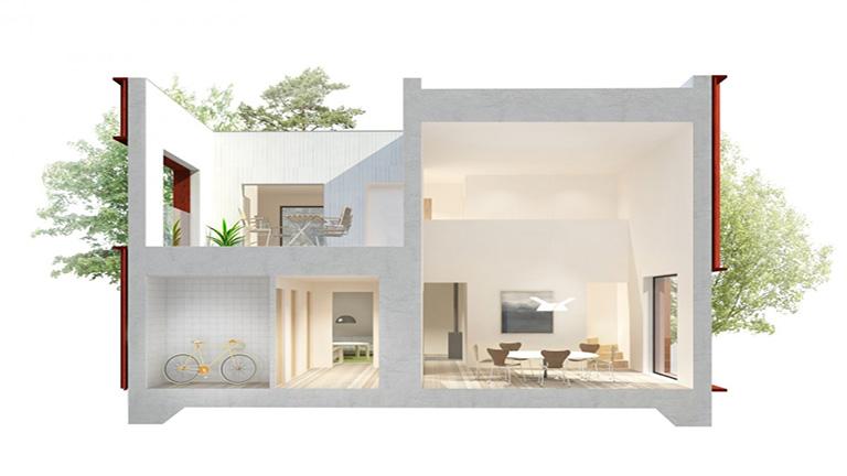 Így néz ki egy tökéletesen kényelmes otthon 2000 ember terve alapján