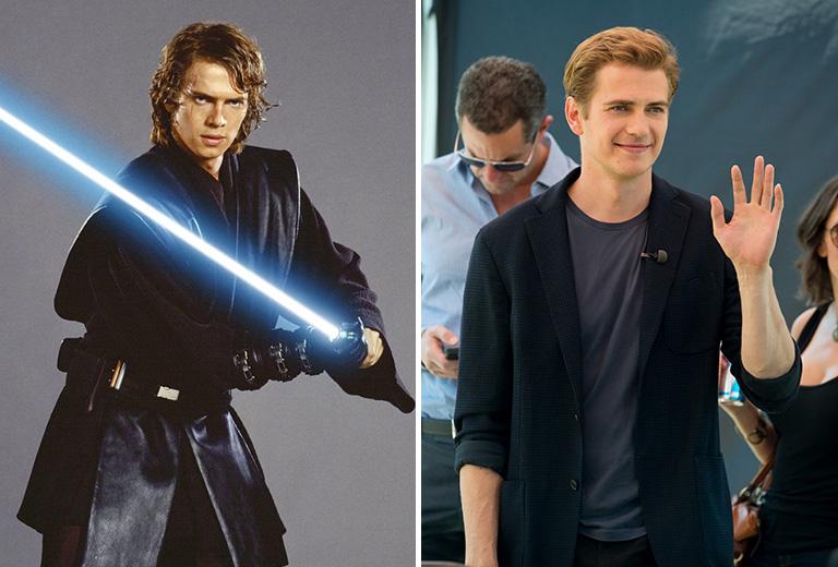 Hayden Christensen Anakin Skywalker szerepében