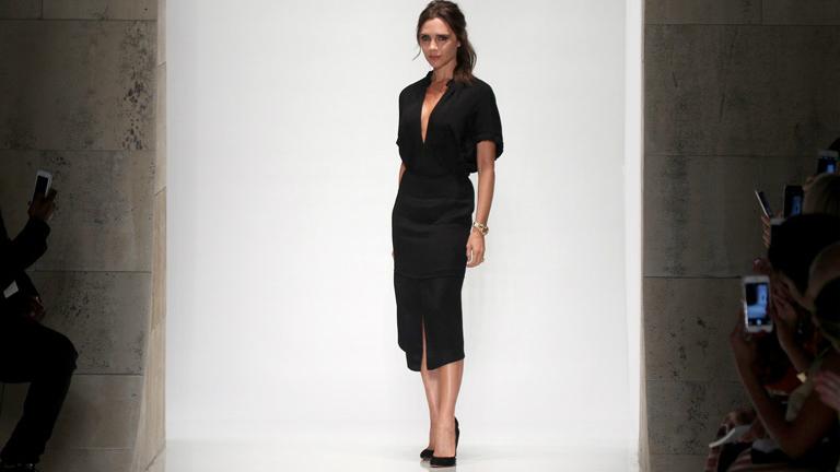 Victoria Beckham jobb karját kevesebbet látod, mint a mosolyát