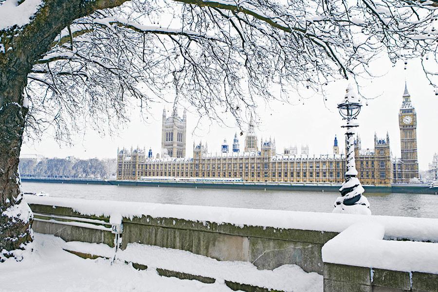 5 híres építészeti csoda, ami télen is lenyűgöző