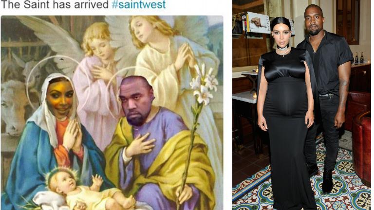 Kim Kardashian Szentnek nevezte el a fiát – mi jöhet még?