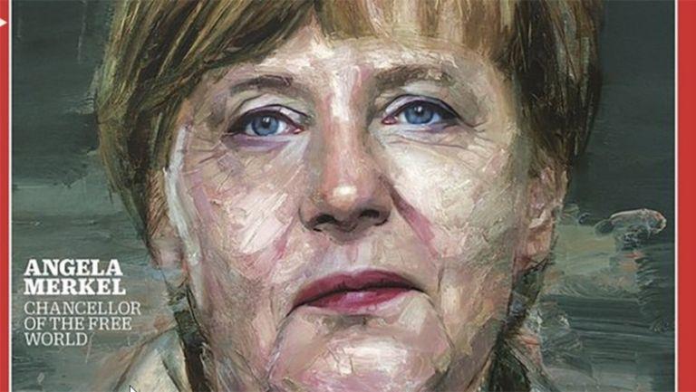 Képaláírás: A szabad világ kancellárja