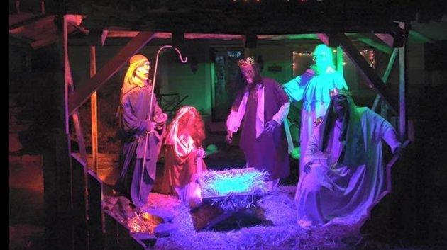 Nagy botrányt kavart a zombi Betlehem