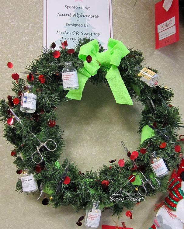 Ilyen a karácsony egy kórházban, ha kreatívak a dolgozók – vicces képek