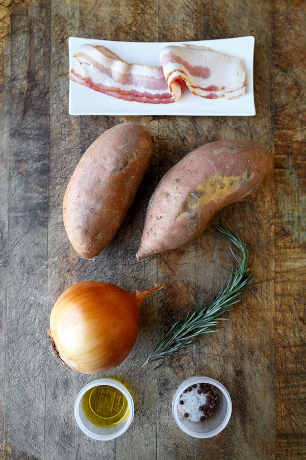 Egy olcsó ünnepi recept: baconnal töltött édesburgonya