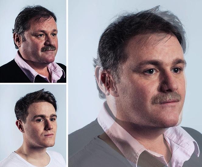 Ennyire durva a hasonlóság apák és fiaik között - fotók