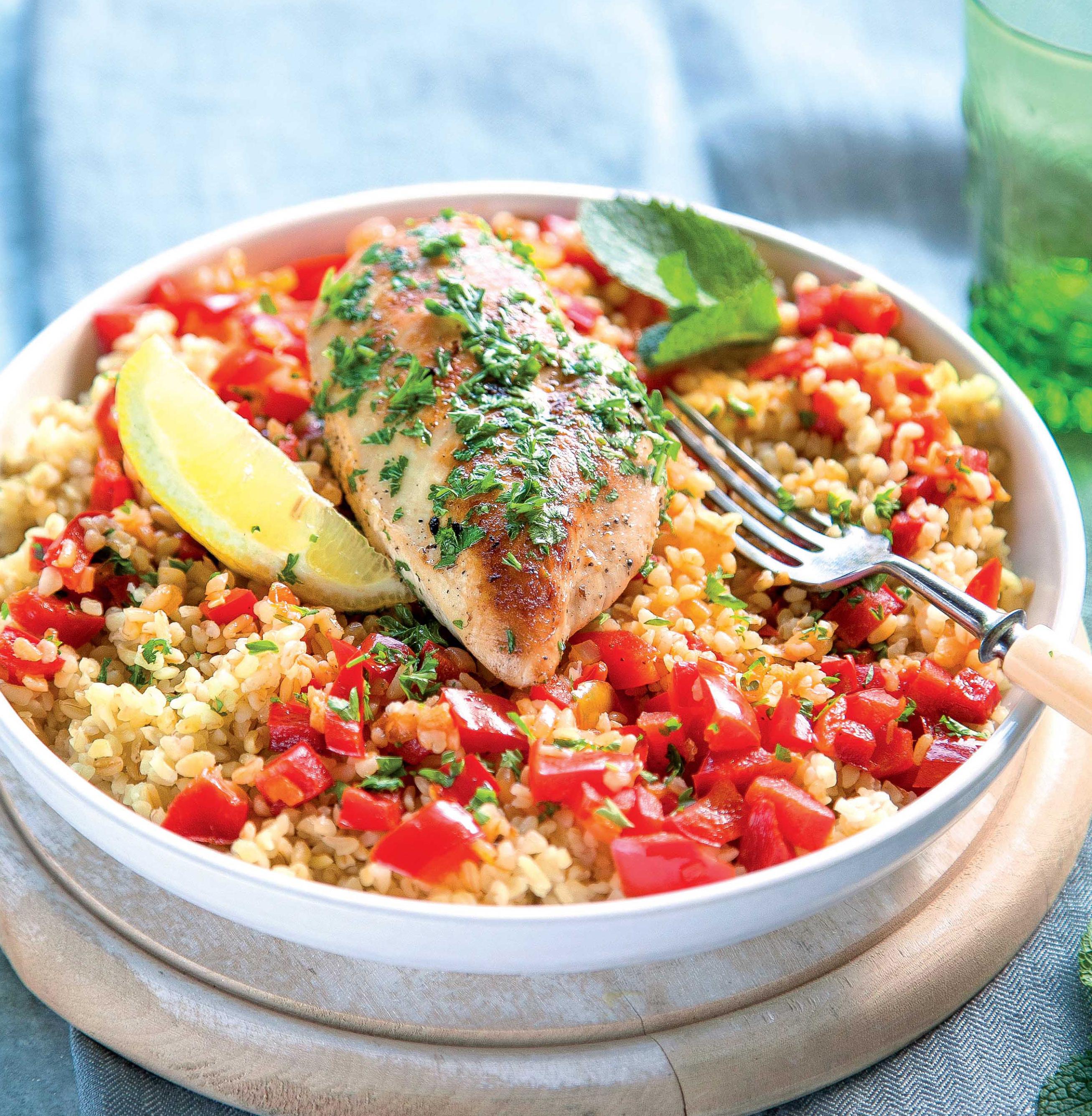 Citromos csirke paprikás és sonkás túrós lepény: 2 diétás ünnepi recept