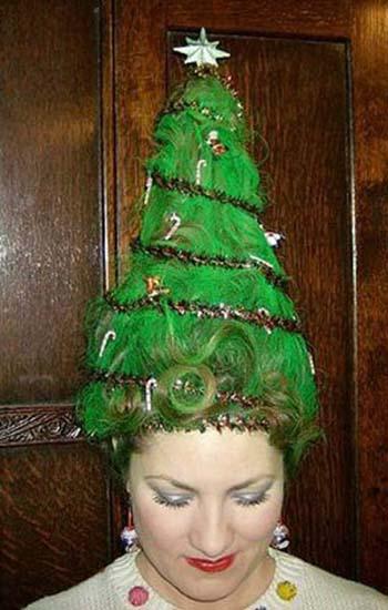 10 egészen megmagyarázhatatlan karácsonyi frizura
