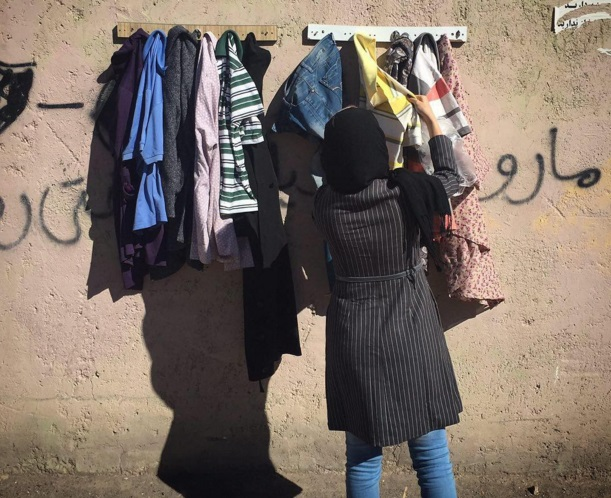 Kedvesség-falakat építenek Iránban