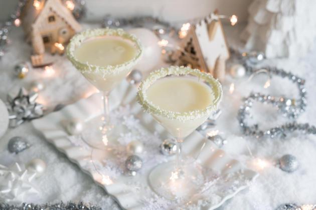 Így készül a hófehér karácsonyi koktél