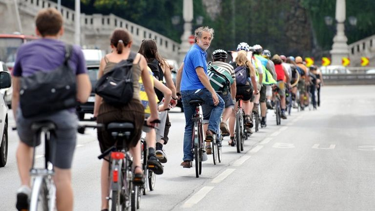 László János a kerékpáros közösség alapembere volt