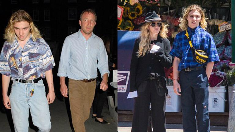 Madonna fiát a bíróság Amerikába hurcolja