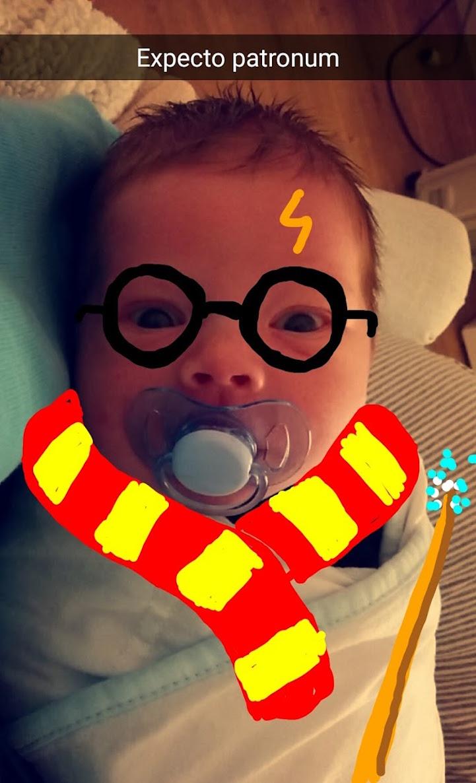 Snapchattel alakítja híres karakterekké kisbabáját a kreatív apuka