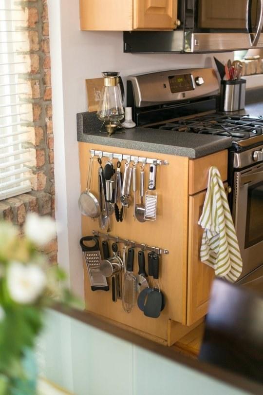 5 tuti tárolási tipp pici konyhákba