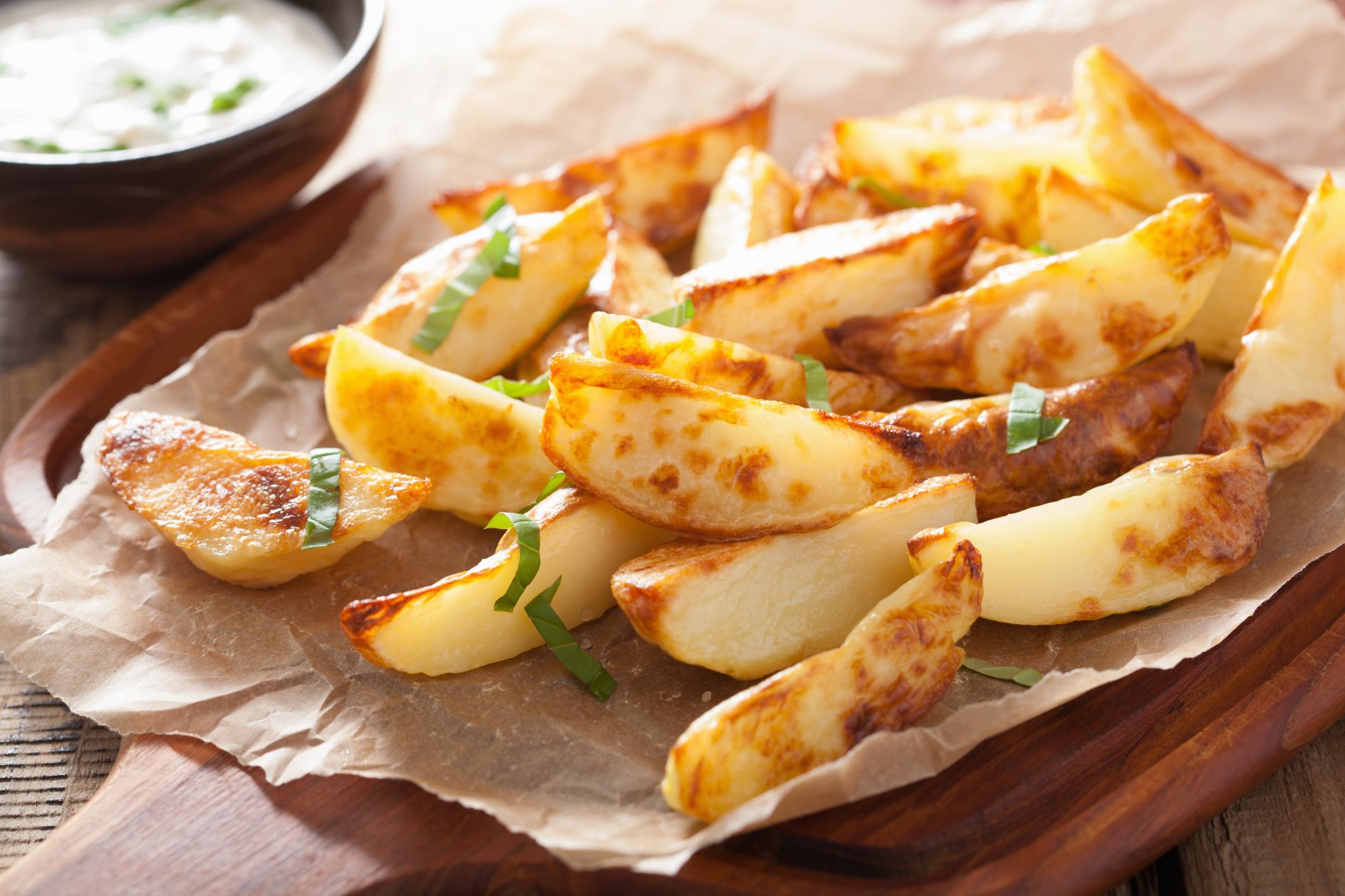 Tökéletes sült és tepsis krumpli