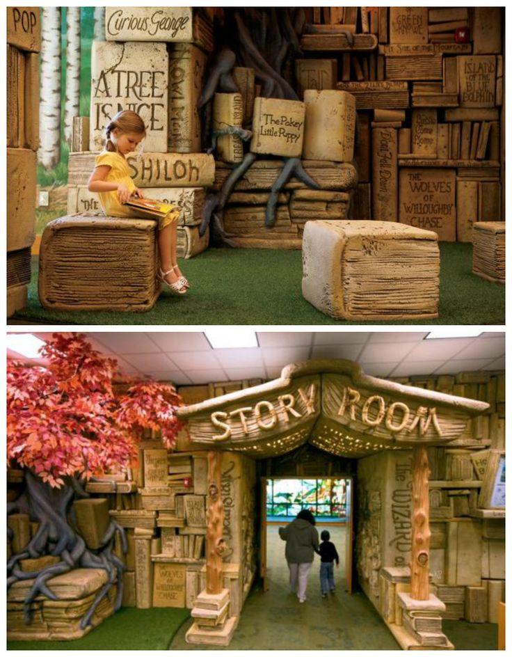 8 varázslatos könyvtár, ahol szenvedélyes olvasók lesznek a gyerekek