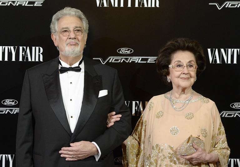 Plácido Domingo és Marta Ornelas
