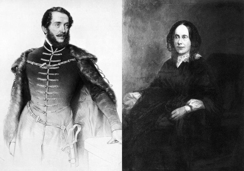 Kossuth Lajos és Meszlényi Terézia