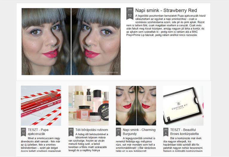 Az 5 legjobb beauty blog