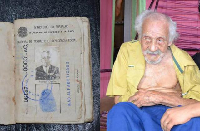 131 éves, élő embert találtak