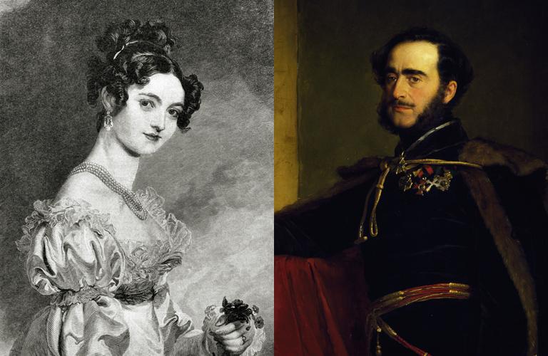 Selina Meade és gróf Széchenyi István