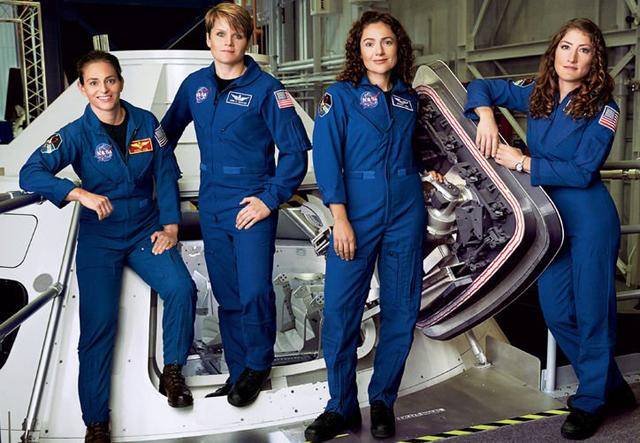 A NASA legújabb űrhajósjelölt-csapatának fele már nőkből áll