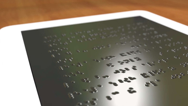 Az új technológia hatalmas előrelépés lehet a vakok és gyengénlátók számára (Fotó: University of Michigan)