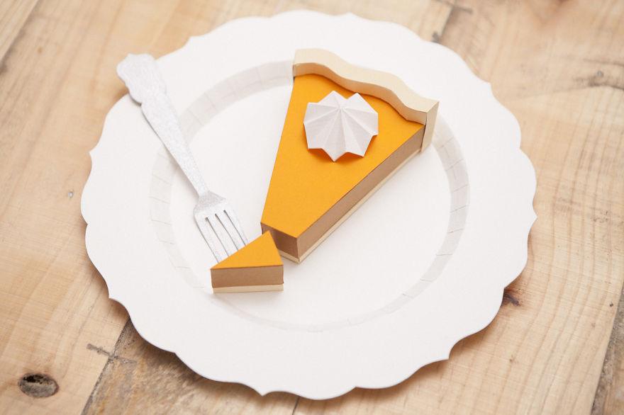 Ínycsiklandó ételkreációk papírból! - fotók