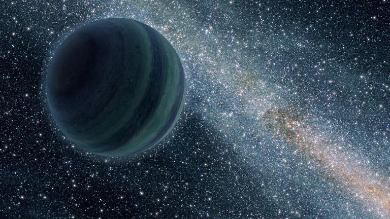 A NASA illusztrációja a titokzatos kilencedik bolygóról