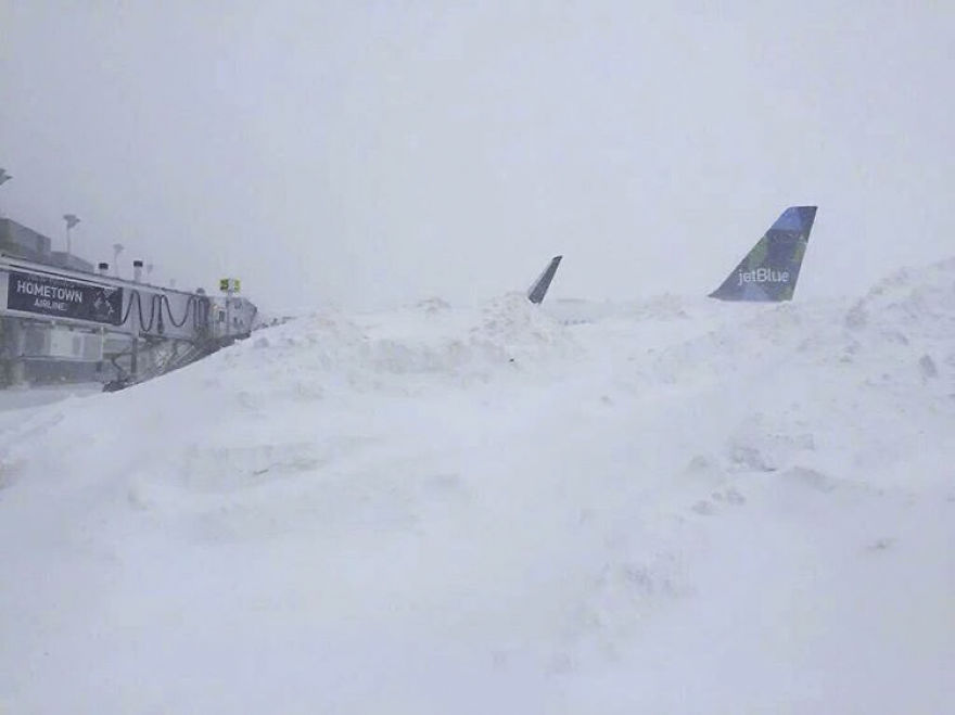 Itt vannak a legviccesebb és legelképesztőbb képek a hatalmas amerikai havazásról