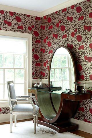 Különleges textilek és motívumok, egyedi bútorok. Az art deco a finom elegancia megtestesítője az otthonokban.