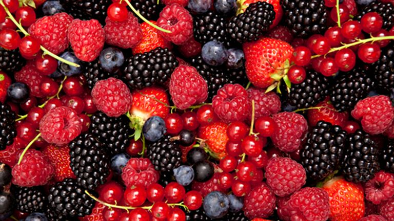 A bogyósok tuti flavonoidforrást jelentenek