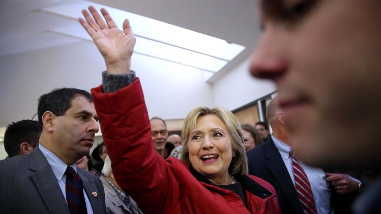 Hillary Clinton egy fél hajszállal tudott csak nyerni